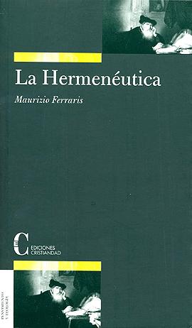 Hermenéutica, La Ferraris, Maurizio