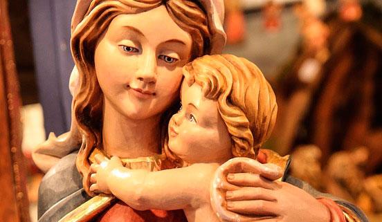 Tres sonrisas del Niño Jesús