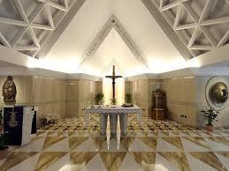 La Capilla Santa Marta donde el Papa Francisco celebra la Misa diaria