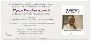 Invitación presentacion Francisco responde