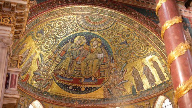 El Papa va a Santa María la Mayor para rezar por su visita a Lesbos