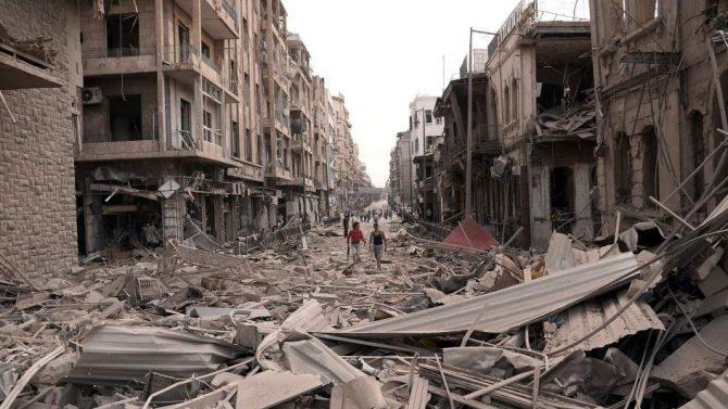 """Papa Francisco: """"Existen Intereses oscuros que siguen devastando Siria"""""""