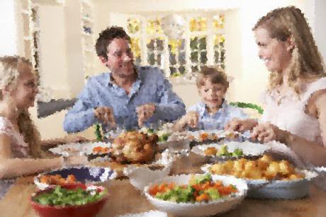 Cena en familia